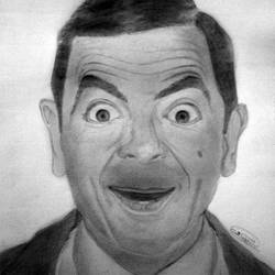 Mr Bean - A4 size - 11.68x8.27In - 11.68x8.27
