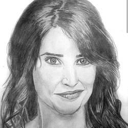 Robin Scherbatsky - Cobie Smulders - A4 size - 11.69x8.27In - 11.69x8.27