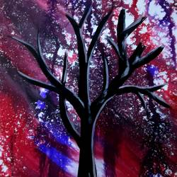 Dry Tree-13 size - 9.25x11.75In - 9.25x11.75