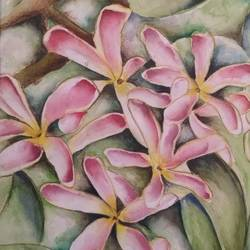 Pink Blossom size - 11x6In - 11x6