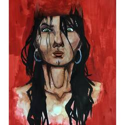 Elektra Bloodbath size - 11.69x16.53In - 11.69x16.53