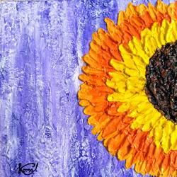sunflower size - 8x8In - 8x8