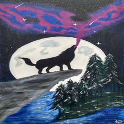 Magical Night size - 18x30In - 18x30