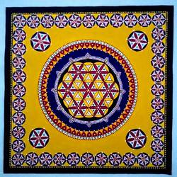 Mandala Art size - 24x24In - 24x24