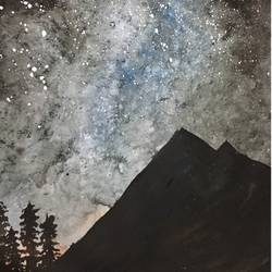 Starry Night size - 11.69x16.53In - 11.69x16.53