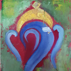 Abstract_Ganesha size - 10x15In - 10x15