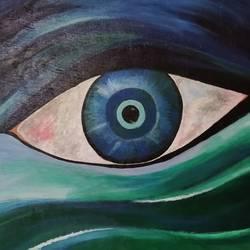 The Eye size - 24x20In - 24x20