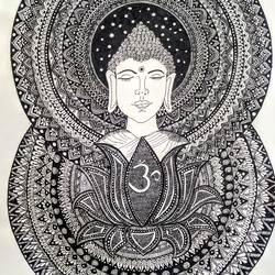 Buddha in Serenity size - 10.83x13.67In - 10.83x13.67