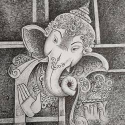 Ganesha size - 15x11In - 15x11
