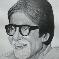 Amitabh Bachchan size - 10.75x15In - 10.75x15