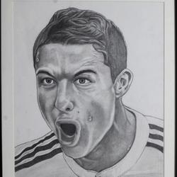 Cristiano Ronaldo- Footballer size - 11x15In - 11x15