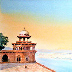 agra Fort, Agra, India size - 13x20In - 13x20