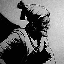 Shivaji Maharaj size - 10.25x14.5In - 10.25x14.5