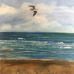 Flying solo size - 16x20In - 16x20