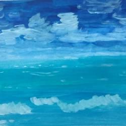 Seascape size - 14x11In - 14x11