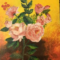 Roses  size - 12 x18In - 12 x18