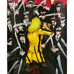 Kill Bill Movie Poster size - 11.69x16.53In - 11.69x16.53