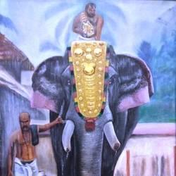 Elephant  size - 19x25In - 19x25
