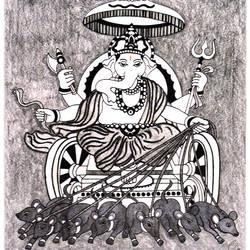 Ganpati -Controlling Desires size - 11.69x16.53In - 11.69x16.53