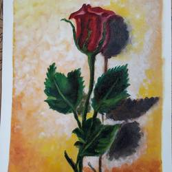 A rose  size - 9.2x12.7In - 9.2x12.7
