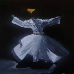 Dance of Sufism size - 11.7 x 16.5 In - 11.7 x 16.5
