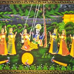 Radha Krishna size - 30x20In - 30x20