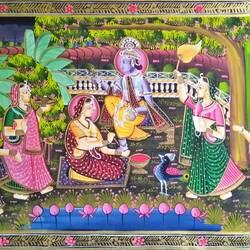 Radha Krishna size - 29x18In - 29x18