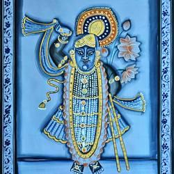 Shree Nath Ji  size - 18x27In - 18x27