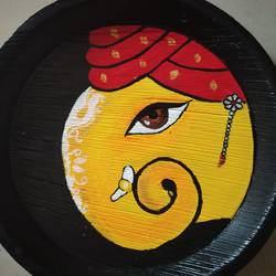 Ganesha Art size - 12x12In - 12x12