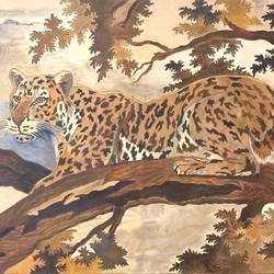 Cheetah in the jungle size - 30x20In - 30x20