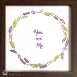 You and Me- Togetherness size - 8x8In - 8x8