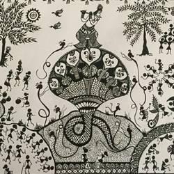Krishna Seshnag size - 11.7x16.5In - 11.7x16.5
