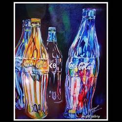 The vibrant glass  size - 20x24In - 20x24