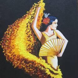 Salsa Dance size - 12x16In - 12x16