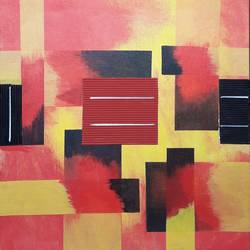 Abstract Painting size - 21x22In - 21x22