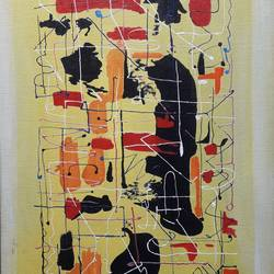 Abstract Paining size - 19x24In - 19x24