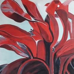 Abstract Paining size - 30x20In - 30x20
