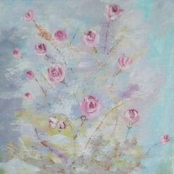 Roses size - 8x8In - 8x8