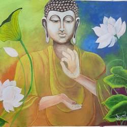 Buddha size - 36x28In - 36x28