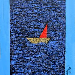 In the Ocean 2 size - 13x17In - 13x17