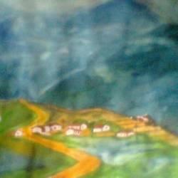 Landscape Mountain Scenery size - 77.00 x58.00In - 77.00 x58.00