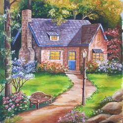 Beautiful House size - 16x20In - 16x20