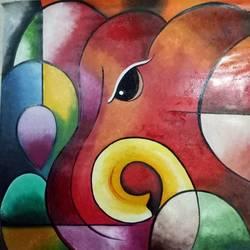 Ganesha size - 21x22.5In - 21x22.5