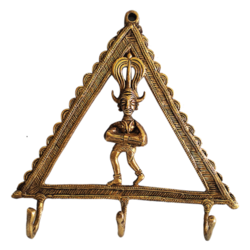 Designer Brass Key Holder size - 8x8In - 8x8