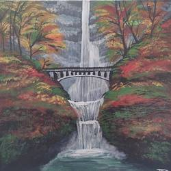 Waterfall size - 20x20In - 20x20