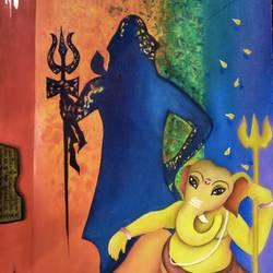Shivanandan size - 30x36In - 30x36