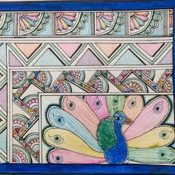 Rainbow Peacock size - 14.9x10.6In - 14.9x10.6