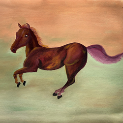 Horse size - 21x16In - 21x16