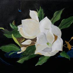 Floral Art 3 size - 22x15.5In - 22x15.5