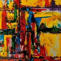 Abstract image  size - 19x15In - 19x15